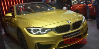 BMW M4 Coupe-GIIAS 2017