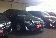 Mobil dinas DPRD DKI Jakarta