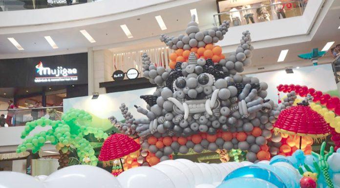 Indonesian Balloon Art Festival