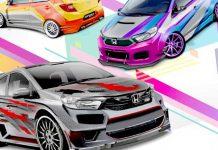 Honda Brio Virtual Modification