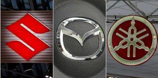 Suzuki Mazda Yamaha