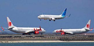 Lion Air dan Garuda Indonesia