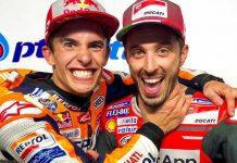 Marc Marquez dan Andrea Dovizioso PTT Thailand Grand Prix 2018