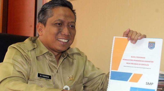 Kadisdik Kota Depok M Thamrin
