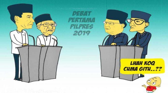 Debat Pilpres 2019 watyutink