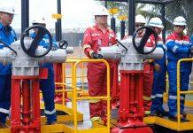 Lifting Minyak Mentah Chevron untuk Pertamina