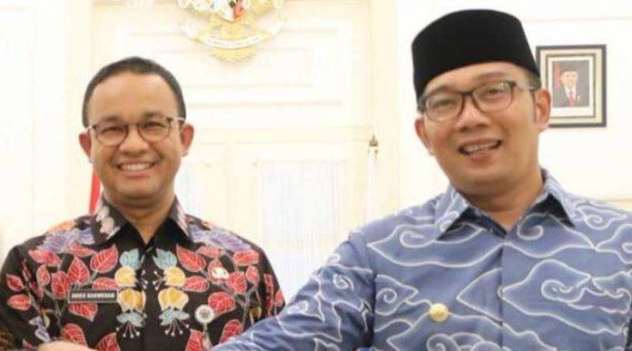 Ridwan Kamil dan Anioes Baswedan