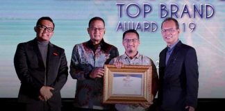 Indonesia Millenial's Top Brand Award 2019