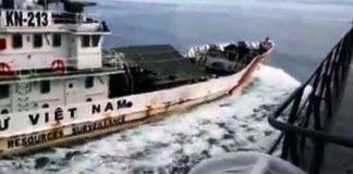 KRI Tjiptadi 381 vs Kapal Vietnam