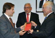 Piet Verdult dan Wakil Presiden MACC, ALfredo R. Amigorena
