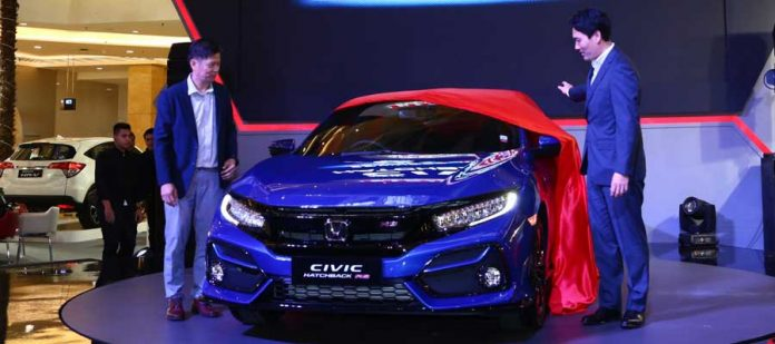 New Honda Civic Hatchback RS