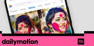 Dailymotion Xiaomi