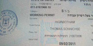 Visa Israel