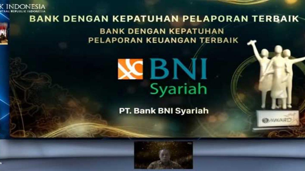 Kepatuhan Pelaporan Keuangan Terbaik dari BI Diraih BNI Syariah - Kastara.ID